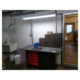 5 Drawer Workbench with (3) Parts C...