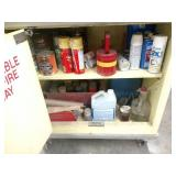 Flammable Cabinet with Contents, Ro...