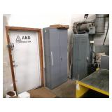 Steel Cabinet with Contents, 36x13x...