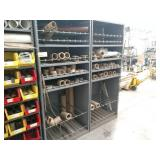 (2) Shelf Units with Contents, 36x3...