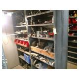 (2) Shelf Units with Contents, 36x1...