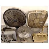 (2) Heaters, (2) Fans, & Vacuum...