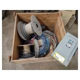 Switch Box & Assorted Copper Wire...