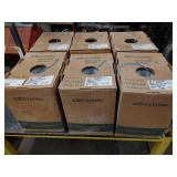 (6) Partial Boxes 24 AWG Solid Copp...
