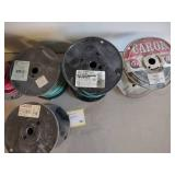 (6) Partial Rolls Assorted Copper W...