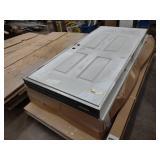 Stanley Door with Frame , Steel Cla...