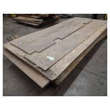 Assorted Wood Sheets & Misc...