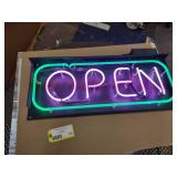 Open Sign, 32x12...