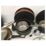 Collection of Pots & Pans