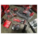 Milwaukee M18 FUEL 4PC Combo Kit 2998-24 Milwaukee open box not used see pictures