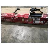Husky Black 5-Tier Heavy Duty Steel Garage Storage Shelving Unit (90in W x 90in H x 24in D) open box see pictures
