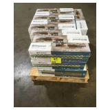 Pallet with 27 cases  Ceramic tiles