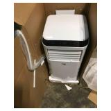 Truett 1000 BTU Portable Air Conditioner open box