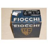 Full Box of 25 Fiocchi 12 Gauge Shotshells