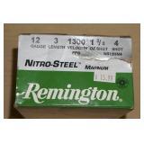 Full Box of 25 Remington 12 Gauge Shotshells