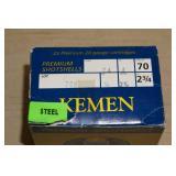 Full Box of 25 Kemen 20 Gauge Shotshells