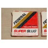 3 Boxes of 5 (15 Total) Federal .410 Super Slugs