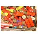 Ammo Box of Random Loose Shotgun Shotshells