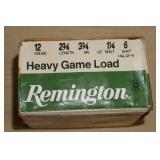 Partial Box - 22 - Remington 12 Gauge Shotshells