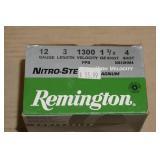 Partial Box - 21 - Remington 12 Gauge Shotshells