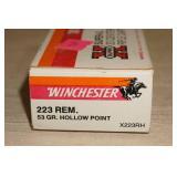 Winchester .223 53 Grain Ammo