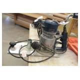 Bosch Router 1618 with Betterley Flush Trimmer Base