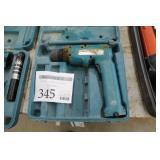 Makita 9.6V Cordless Drill with Case