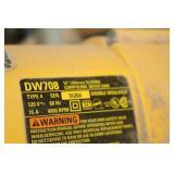 """DeWalt Sliding Compound Miter Saw 12"""" DW708 with Saw Table"""