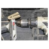 Panasonic 18V Cordless Drill EY7950, 18V Cordless Impact EY7550 with 18V Batteries (x2), Case
