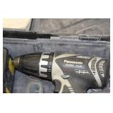 Panasonic 14.4V Cordless Drill EY7441, 14.4V Cordless Impact EY7546 with Batteries (x2), Charger and Case