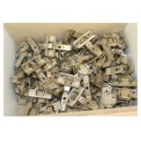 Lot of Hinges and Hinge Hardware