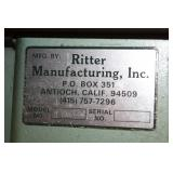 Ritter Manufacturing, Inc. Single Spindle Pocket Hole Boring Machine R200
