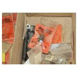 Lot of Hardware - Router Bits, Electrical, Corner Brackets, Hinge Covers, Misc. Hardware