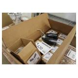 Lot of (8) Double-Head 8W LED Floodlight DQ-MH8WMO-BLK-45-DB 3500K (new in box)