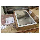 Xlerator Clothes Dryer Recess Kit Wall Box Assembly XL14  (in box)