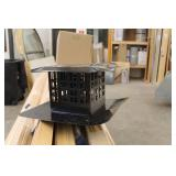 """Pro-Form Direct Vent Assembly 3""""x3"""" VCL Term Cap Black 940033B (in box)"""