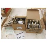 Lot of (2) Schlage Privacy Locking Latch Assembly (in box)