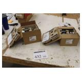 Lot of (2) Schlage Storeroom Lock Assembly (in box)