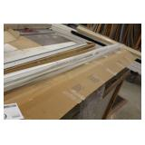"""Lot of (5) Mini Blinds 84-1/2""""Wx34""""H Alabaster Pearl"""