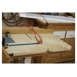 Wood Router Work Table with Extension Cord and Switch