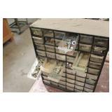 Parts Organizer Cabinet 60-bin with Misc. Hardware