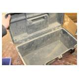 "Plano Plastic Tool Box 20"" with 7-Plastic Parts Organizer Bins"