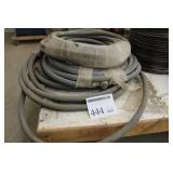 Lot of (3) Hydraulic Lines