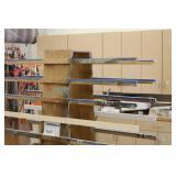 Rolling Wood Storage Rack Cart 2-Side 12-tier