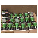 BIG LOT OF Feit Electric 219667 9 W Br 30 Grow LED Bulb Open Box Customer Returns See pictures.