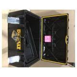 TOUGHSYSTEM 22 in. Medium Tool Box by DEWALT in good condition