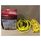 50 ft. 5-Bulb String Caged Work Lights by Husky Open Box Customer Returns See pictures.
