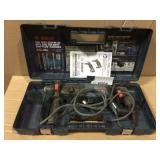 Bulldog Xtreme 8 Amp 1 in. Corded Variable Speed SDS-Plus Concrete/Masonry Rotary Hammer Drill with Carrying Case by Bosch USED Open Box Customer Returns See pictures.