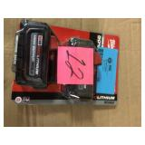 M18 18-Volt Lithium-Ion High Output 6.0Ah Battery Pack (2-Pack) by Milwaukee in good condition