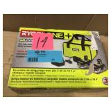 RYOBI 18-Volt ONE+ LITHIUM+ HP 3.0 Ah Battery (2-Pack) Starter Kit with Charger and Bag in good condition